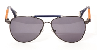 Robert Graham Sunglasses:  Walker (Gun Metal)